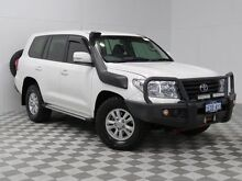 2012 Toyota Landcruiser VDJ200R 09 Upgrade GXL (4x4) White 6 Speed Automatic Wagon Atwell Cockburn Area Preview