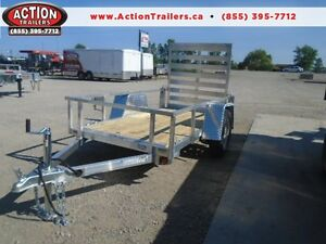 BUY ALL ALUMINUM TRAILER FOR LESS THAN 2K - GET MORE TRAILER