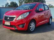 2011 Holden Barina TK MY11 Red 5 Speed Manual Hatchback Underwood Logan Area Preview