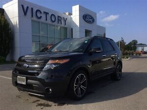 2014 Ford Explorer Sport, Pano Roof, Navigation, 7 Passenger, AW