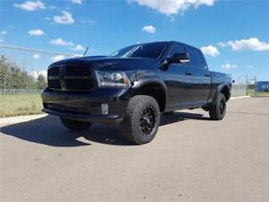 LIFTED RAM SPORT MURDERED OUT MONSTER TRUCK!!!!!!