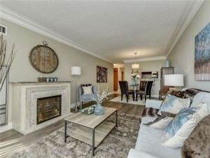 Absolutely Stunning 2+1 Bed, 2 Bath Condo W/ 2 Parking Spots