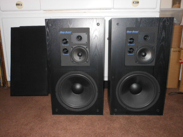 2 Omni Audio Sa 12 3 3 Way Studio Speakers 200w With