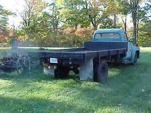 1955 ford f250 dually stake bed truck