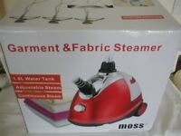 moss garment and fabric steamer new boxed