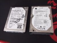 x2 sata laptop hdds both 80gb,NO TEXTS PLZ.£8 for 2
