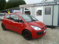 MITSUBISHI COLT 1.1 RED ALL CREDIT AND DEBIT CARDS ACCEPTED!!!!