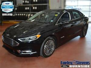 2018 Ford Fusion Hybrid Titanium $125 weekly with CPO!