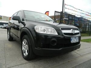 2009 Holden Captiva CG MY09 SX Black 5 Sp Automatic Wagon Williamstown North Hobsons Bay Area Preview