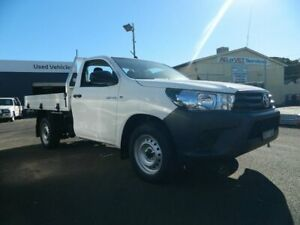2016 Toyota Hilux TGN121R Workmate 5 Speed Manual Cab Chassis Wellington Wellington Area Preview