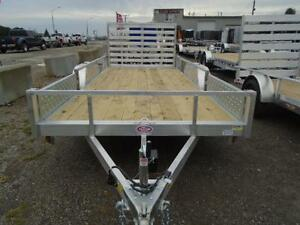 16' ALUMINUM UTILITY TRAILER - ATV RAMPS - BOTTOM LINE PRICING! London Ontario image 4