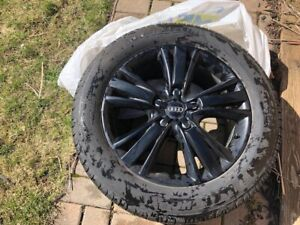 All season michelin tires and alloy rims for Audi Q7