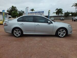2011 Ford Falcon FG XR6 Silver 6 Speed Sports Automatic Sedan Hyde Park Townsville City Preview