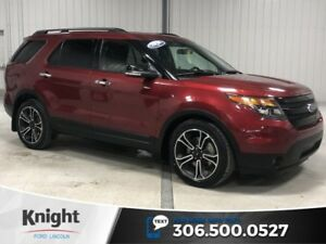 2014 Ford Explorer Sport, 6 Pass, Local Trade, Certified, Loaded