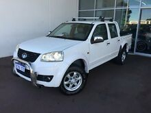 2012 Great Wall V240 K2 MY12 White 5 Speed Manual Utility Cannington Canning Area Preview