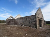 Land with old Barn or run down Steading/house Wanted with land in Aberdeen or Aberdeenshire