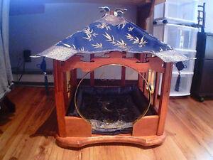 Cage - maison pour petit chien fait à la main