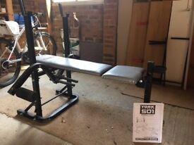 York Fitness 501 Bench
