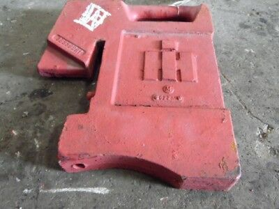 International Harvester Tractor Front Suitcase Weight 75 Lbs. Tag 428