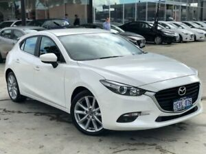 2018 Mazda 3 BN5438 SP25 SKYACTIV-Drive White 6 Speed Sports Automatic Hatchback Palmyra Melville Area Preview