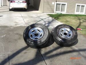 4 mags and tires