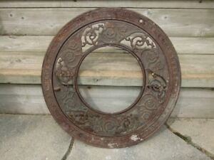ANTIQUE STOVE PIPE METAL REGISTER