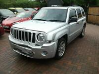2008 Jeep Patriot 2.0CRD 6 SPEED 4X4 Limited SALVAGE DAMAGED REPAIRABLE DRIVES