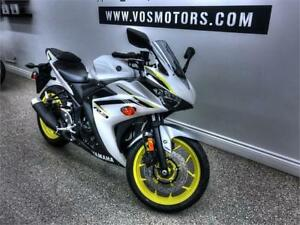 2018 Yamaha YZF-R3 ABS -V2962NP-No Payments For 1 Year**