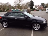 Audi A3 Cabriolet 2.0 TDI Sport- Excellent condition, low mileage.Recently serviced, 12 months MOT