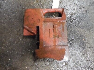 International Harvester Tractor 75 Lbs Front Weight Part 383392r1 Tag 365