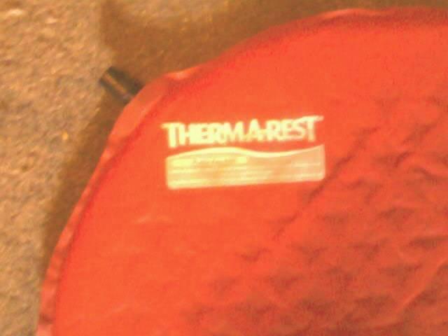 Thermarest Single Mattress