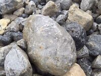 Rounded Glacial Boulders, Cobbles and Pebbles