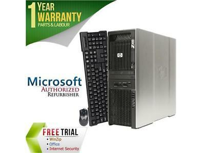 HP Desktop Computer Z600 Intel Xeon E5504 (2.00 GHz) 4 GB DDR3 160 GB HDD ATI Ra for sale  Richmond Hill