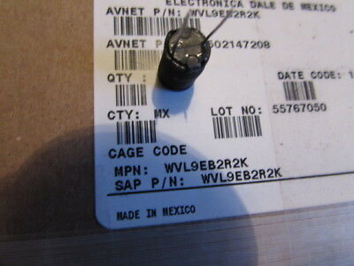 Wvl9eb2r2k Vishay Variable Inductors 2.2uh 10 Vertical Style Shielded Radial 5