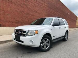 2008 FORD ESCAPE XLT *4WD,LEATHER,SUNROOF,LOADED!!!*