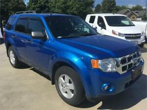 2011 FORD ESCAPE XLT V6 just 52.000 km blue