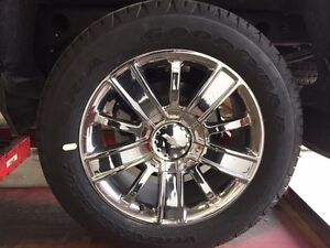 BRAND CHEVROLET 1/2 TON WHEELS AND TIRES