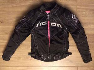 Manteau de moto Icon small pour femme West Island Greater Montréal image 2