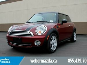 2007 Mini Cooper SUNROOF/LEATHER/HEATED SEATS/2 SETS OF TIRES