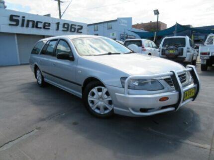 2008 Ford Falcon BF Mkiii XT (LPG) Silver 4 Speed Auto Seq Sportshift Wagon