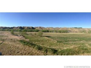 Beautiful 12 acre lot located right on the S. Sask. River