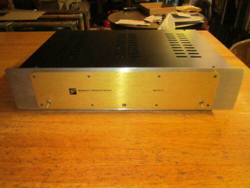 SONIC FRONTIERS SFP-1 PHONO STAGE GOLD PLATE FRONT TESTED & WORKING NO RETURNS