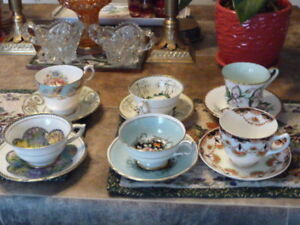 "6 Beautiful ""Paragon"" Cups And Saucers"