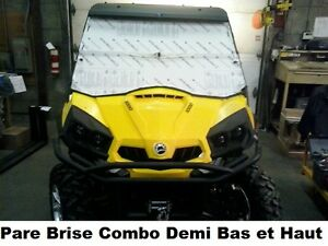 Pare Brise  Can Am BRP Commander Windshield NEUF