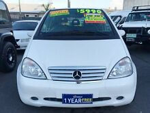 1999 Mercedes-Benz A160 W168 Avantgarde White 5 Speed Automatic Hatchback Underwood Logan Area Preview