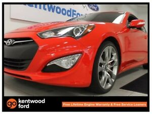 2015 Hyundai Genesis Coupe 3.8 GT Coupe, NAV, sunroof, back up c