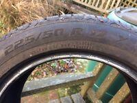 2 Continental Altimax 225/50R17Y tyres