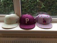 Three 'New Era Caps '