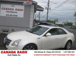 2009 Cadillac CTS 4 ,loaded,loaded,AWD,12 M WRTY,SAFETY,$9990
