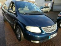 CHRYSLER GRAND VOYAGER LIMITED EDITION AUTOMATIC 7 SEATER ALLOYS LEATHER LIMITED EDITION